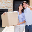 Couple moving house — Stock Photo #13495790