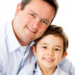 Father and son — Stock Photo #13765313