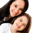 Foto Stock: Mother and daughter