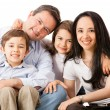 Happy family together — Stock Photo