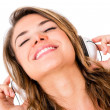 Woman listening to music - Photo