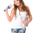 Royalty-Free Stock Photo: Female painter