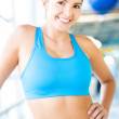 Fit gym woman — Stock Photo #14665159