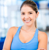 Beautiful sportive woman — Stock Photo