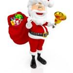 3D Happy Santa Claus — Stock Photo #14942111