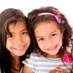 Beautiful little girls — Stock Photo