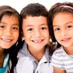 Happy group of kids — Stock Photo