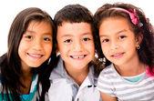 çocuklar mutlu grup — Stok fotoğraf