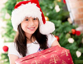 Christmas portait — Stock Photo