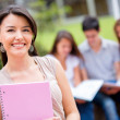 Female student at the university — Stock Photo #15659381