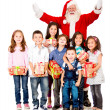Stock Photo: Generous Santa Claus