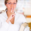 Keep quiet at library Keep quiet at library — Stockfoto #15836705