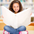 Little girl at the library Little girl at the library — Stock Photo #15837961