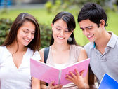 Group of students Group of students — Stock Photo