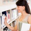 Woman at the library Woman at the library — Stock Photo
