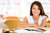 šťastný univerzitní student šťastný univerzitní student — Stock fotografie