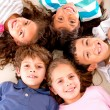 Stock Photo: Happy group of kids Happy group of kids