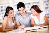 Skupina studentů skupiny studentů — Stock fotografie