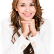 Happy business woman Happy business woman — Stock Photo #16319601
