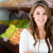 Royalty-Free Stock Photo: Woman at the local market Woman at the local market