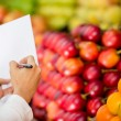 Royalty-Free Stock Photo: Shopping list Shopping list