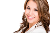 Szczęśliwy biznes kobieta szczesliwym biznesem — Zdjęcie stockowe