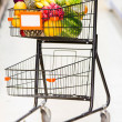 Shopping trolley Shopping trolley — Stock Photo