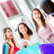 Stock Photo: Friends shopping Friends shopping