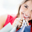 Shopping woman Shopping woman — Stock Photo #16797487