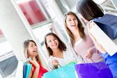 Friends shopping Friends shopping — Stock Photo