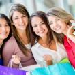 Female shopper Female shopper — Stock Photo #16963029