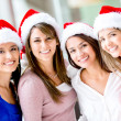 Christmas women Christmas women — Stock Photo