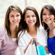 Stok fotoğraf: Friends shopping Friends shopping