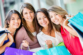 Female shopper Female shopper — Stock Photo