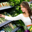 Woman grocery shopping Woman grocery shopping — Stock Photo #18948785