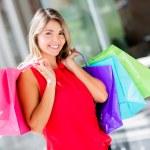 Shopping woman Shopping woman — Stock Photo