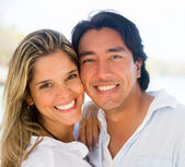 Happy couple portrait Happy couple portrait — Stock Photo