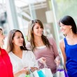 Stok fotoğraf: Shopping girls Shopping girls