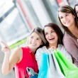 Shopping women Shopping women — Stock Photo