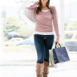 donna shopping shopping donna — Foto Stock #19155089