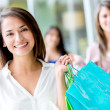 Royalty-Free Stock Photo: Beautiful female shopper Beautiful female shopper