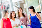 Shopping girls Shopping girls — Stock Photo