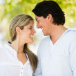 Cute couple in love Cute couple in love — Foto de Stock