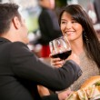 Couple in a romantic dinner Couple in a romantic dinner — Stock Photo #19174187