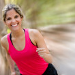 Stock Photo: Female runner Female runner