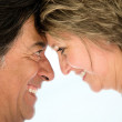 Loving couple smiling Loving couple smiling — Stock Photo #19192603