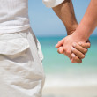 Couple holding hands Couple holding hands — Stock fotografie