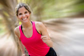 Female runner Female runner — Stock Photo