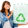 Recycle bin Recycle bin — Stock Photo