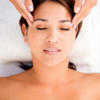 Relaxing massage Relaxing massage — Stock Photo #19632539